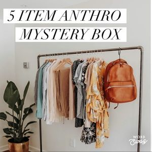 Anthropologie mystery box (5 items)